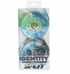 Rink Rat Identity Split 76A Roller Hockey Wheel - Blue/White - 4 Pack