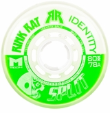 Rink Rat Identity Split 78A Roller Hockey Wheel - Green/White