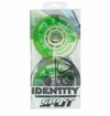 Rink Rat Identity Split 78A Roller Hockey Wheel - Green/White - 4 Pack