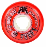 Rink Rat Identity Theft 76A Inline Hockey Wheel - Red