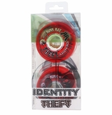 Rink Rat Identity Theft 76A Roller Hockey Wheel - Red - 4 Pack
