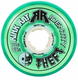 Rink Rat Identity Theft 80A Inline Hockey Wheel- Green