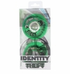 Rink Rat Identity Theft 80A Inline Hockey Wheel - Green - 4 Pack