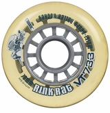 Rink Rat Retro VT733 76A Inline Hockey Wheel - Clear/Blue