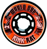 Rink Rat World Cup 82A Inline Hockey Wheel - Orange/Black
