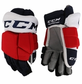 Rochester Americans CCM TKP Pro Stock Padded Hockey Gloves