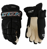 San Jose Sharks CCM 12 Pro Stock Hockey Gloves - Irwin