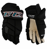 San Jose Sharks CCM TK Pro Stock Hockey Gloves