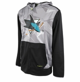 San Jose Sharks Reebok Center Ice TNT Sr. Full Zip Hoody