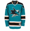 San Jose Sharks Reebok Edge Premier Youth Hockey Jersey