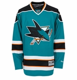 San Jose Sharks Reebok Edge Premier Adult Hockey Jersey (2007 - 2013)