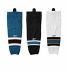 San Jose Sharks Reebok Edge SX100 Junior Hockey Socks