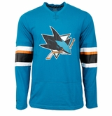 San Jose Sharks Reebok Face-Off Jersey Sr. Long Sleeve Shirt