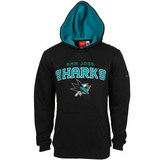 San Jose Sharks Reebok Faceoff Playbook Sr. Pullover Hoody