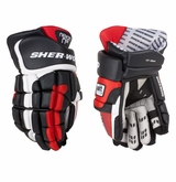 Sher-Wood Nexon N12 Leather Sr. Hockey Gloves