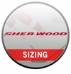 Sher-Wood Shoulder Pad Sizing Chart
