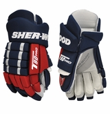 Sher-Wood T90 Pro Nylon Sr. Hockey Gloves
