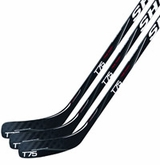 Sher-Wood True Touch T75 Grip Sr. Composite Hockey Stick - 3 Pack