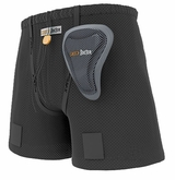 Shock Doctor 278 Women's Loose Hockey Short w/ Pelvic Protector