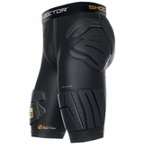 Shock Doctor ShockSkin 5-Pad Extended Thigh Short