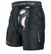 Shock Doctor 563 Shockskin� Yth. Relaxed Fit Impact Short w/Ultra Carbon Flex Cup