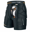 Shock Doctor 583 ShockSkin� Yth. Impact Short w/Cup - Relaxed Fit
