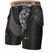 Shock Doctor 591 Yth. Ultra ShockSkin Hockey Short w/AirCore Hard Cup