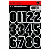 "SportStar Hockey Helmet Decal 1.5"" Number Kit"