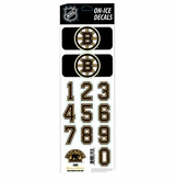 SportStar NHL All In One Helmet Decals Boston Bruins