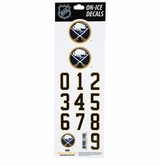 SportStar NHL All In One Helmet Decals Buffalo Sabres