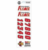 SportStar NHL All In One Helmet Decals Calgary Flames