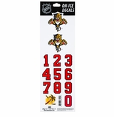 SportStar NHL All In One Helmet Decals Florida Panthers