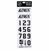 SportStar NHL All In One Helmet Decals Los Angeles Kings