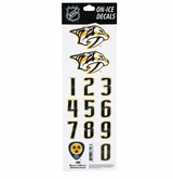 SportStar NHL All In One Helmet Decals Nashville Predators