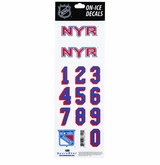 SportStar NHL All In One Helmet Decals New York Rangers