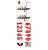 SportStar NHL All In One Helmet Decals Washington Capitals
