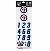 SportStar NHL All In One Helmet Decals Winnipeg Jets