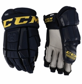 St. Louis Blues CCM 3 Pro Stock Hockey Gloves - Cole