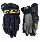 St. Louis Blues CCM 3 Pro Stock Hockey Gloves - Lapierre
