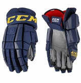 St. Louis Blues CCM Crazy Light Hockey Pro Stock Hockey Gloves