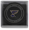 St. Louis Blues Official NHL Game Puck with Cube