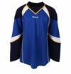 St. Louis Blues Reebok Edge Gamewear Uncrested Adult Hockey Jersey