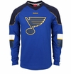 St. Louis Blues Reebok Edge Sr. Long Sleeve Jersey Tee