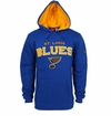 St. Louis Blues Reebok Faceoff Playbook Sr. Pullover Hoody