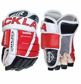 Tackla 5000 Leather Yth. Hockey Gloves
