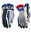Tampa Bay Lightning CCM Crazy Light Pro Stock Hockey Gloves