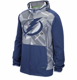 Tampa Bay Lightning Reebok Center Ice TNT Sr. Full Zip Hooded Sweatshirt