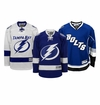 Tampa Bay Lightning Reebok Edge Jr. Premier Crested Hockey Jersey
