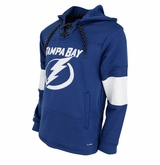 Tampa Bay Lightning Reebok Face-Off Team Jersey Sr. Hooded Sweatshirt
