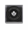 Toronto Maple Leafs Official NHL Game Puck with Cube